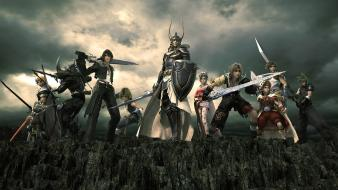 Dissidia final fantasy swords wallpaper