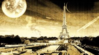 Eiffel tower paris vintage wallpaper