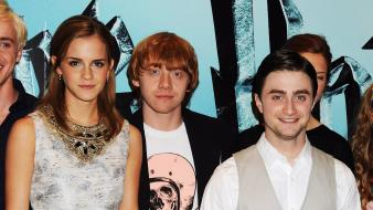 Emma watson harry potter rupert grint actors wallpaper
