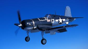F4u corsair united states air force aviation flying wallpaper