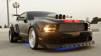 Ford mustang knight rider cars muscle tuning wallpaper
