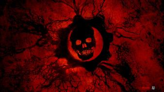 Gears of war 2 red wallpaper