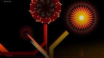 Guy fawkes smashing magazine digital art fireworks geometry wallpaper