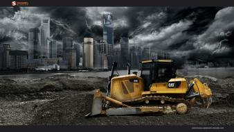 Heavy smashing magazine caterpillar cityscapes rivers wallpaper