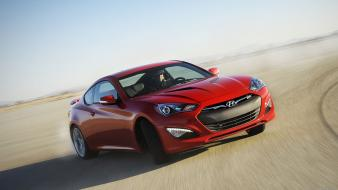 Hyundai genesis coupe cars drifting wallpaper