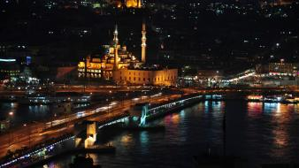 Istanbul cities cityscapes city skyline mosques wallpaper