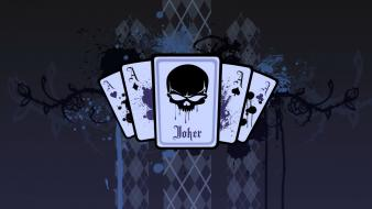 Joker playing card artwork cards wallpaper