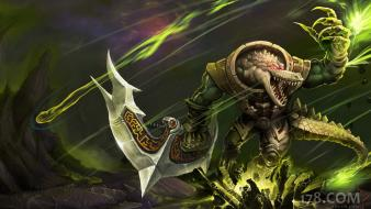 League of legends renekton galaxies wallpaper