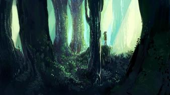 Link the legend of zelda forests wallpaper