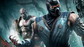Mortal kombat games video wallpaper