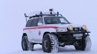 Nissan patrol arctic truck cars snow Wallpaper