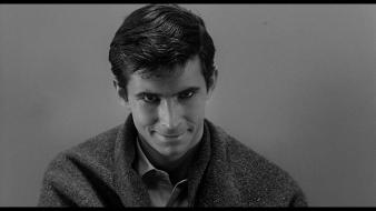 Perkins norman bates black and white movies Wallpaper