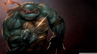 Teenage mutant ninja turtles fantasy art ninjas raphael Wallpaper