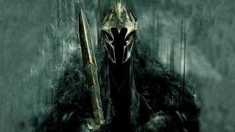 The lord of rings witch king nazgul wallpaper