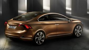 Volvo s60 concept art supercars vehicles wallpaper