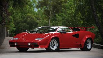 1985 countach italian lamborghini cars wallpaper