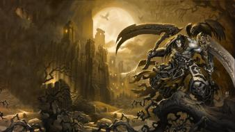 3d darksiders 2 death darksiders video games Wallpaper