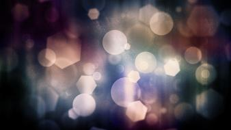 Abstract bokeh nature wallpaper