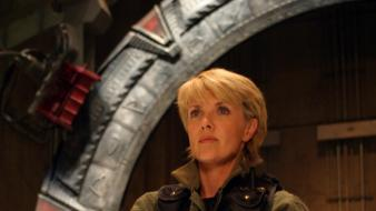 Amanda tapping stargate sg1 tv shows actress wallpaper