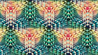 Andy gilmore abstract cubes geometry multicolor wallpaper