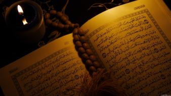 Arabic quran religious books wallpaper