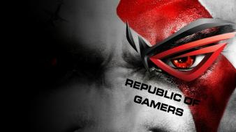 Asus god of war gamers wallpaper