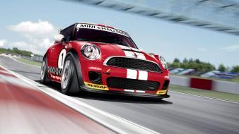 Automobiles cars mini cooper sports transportation Wallpaper