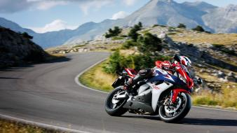 Biker bikers motorbikes speed wallpaper