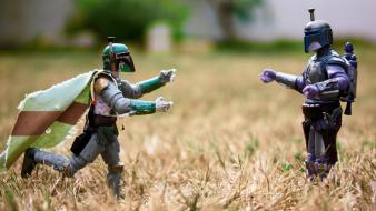 Boba fett star wars action figures love nature wallpaper