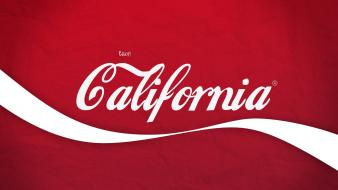 California cocacola logos Wallpaper