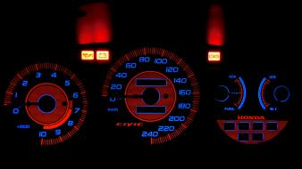 Civic honda cars gauges wallpaper