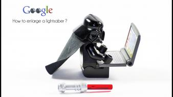 Darth vader google legos star wars computers wallpaper