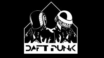 Dj daft punk tron black music wallpaper
