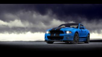 Ford mustang shelby gt500 front muscle cars Wallpaper