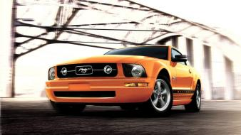 Ford mustang v6 muscle cars vehicles wallpaper