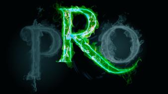 Gaming clans the progressive clan flame green wallpaper