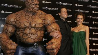 Gruffudd jessica alba thing ben grimm celebrity Wallpaper