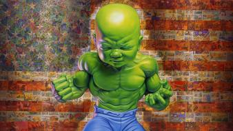 Hulk comic character green wallpaper