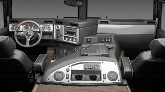Hummer h1 car interiors interior vehicles Wallpaper