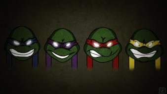 Leonardo michaelangelo teenage mutant ninja turtles donatello minimalistic wallpaper