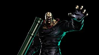 Marvel vs capcom 3 resident evil nemesis wallpaper