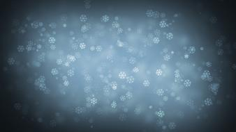 Minimalistic patterns snow snowflakes wallpaper