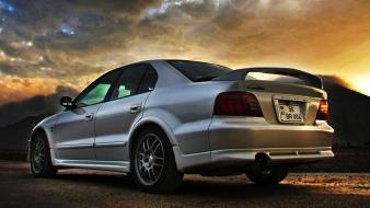 Mitsubishi galant vr4 cars vehicles wallpaper