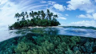 Papua new guinea islands land landscapes nature wallpaper