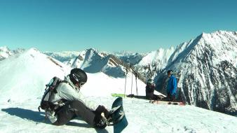 Snow snowboard snowboarding sports tour wallpaper