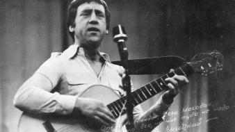 Vladimir vysotsky performance singers wallpaper