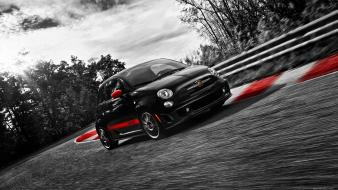 Abarth fiat 500 cars Wallpaper