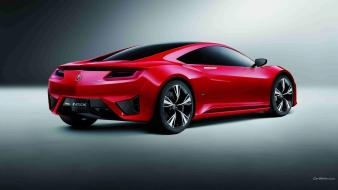 Acura nsx nissan cars concept art red wallpaper