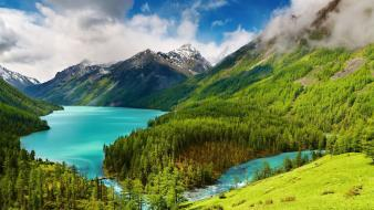 Altai russia nature republic wallpaper