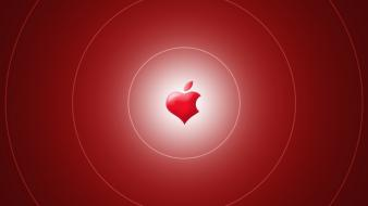 Apple inc hearts logos love technology wallpaper